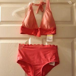 NWT Kate Spade 2-piece Carmel Beach #60 Bikini
